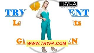 new jumpsuits for girls/women | Latest dresses for women -TRYFA