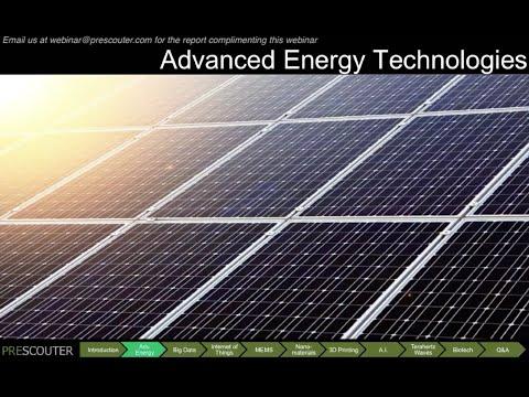 Advanced Energy Storage & Generation
