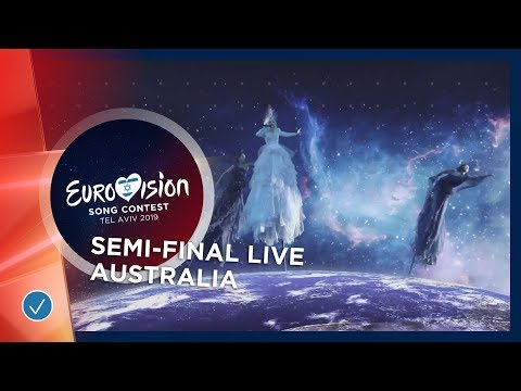 Australia - LIVE - Kate Miller-Heidke - Zero Gravity - First Semi-Final - Eurovision 2019