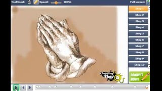 How to Draw Praying Hands