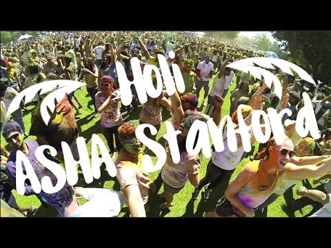 Holi Event in Stanford by ASHA