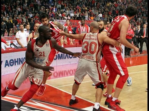 Euroleague's Biggest Fights And Brawls
