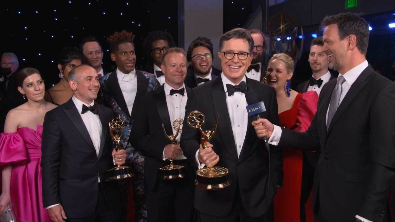 Download Stephen Colbert: 73rd Emmys Winnerview