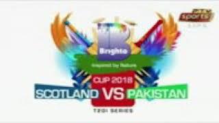 Pakistan and  Scotland jabardast T20 match