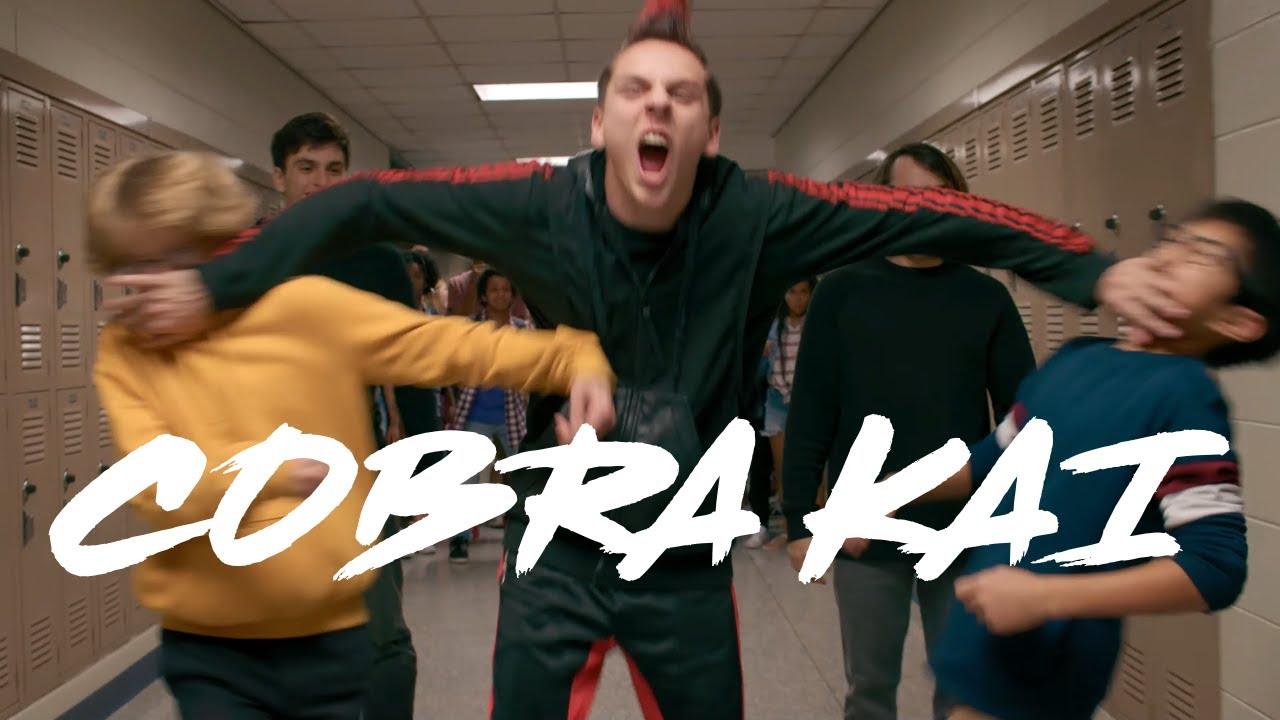 Download Cobra Kai S2 E10 - No Mercy - School Brawl Ending