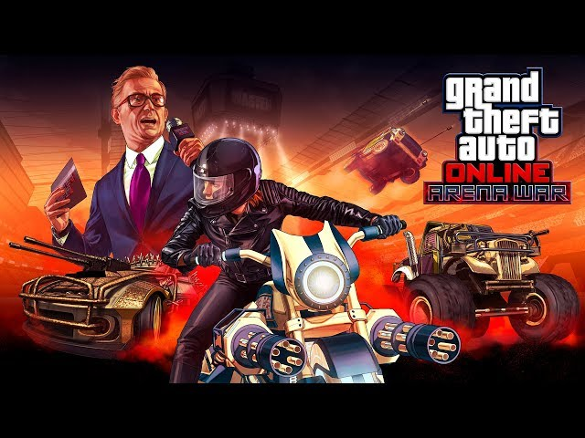 GTA Online: Guerre d'arène