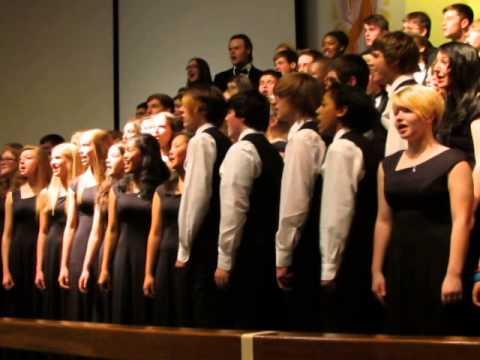 Sacred Concert 2014 Praise His Holy Name by Keith Hampton