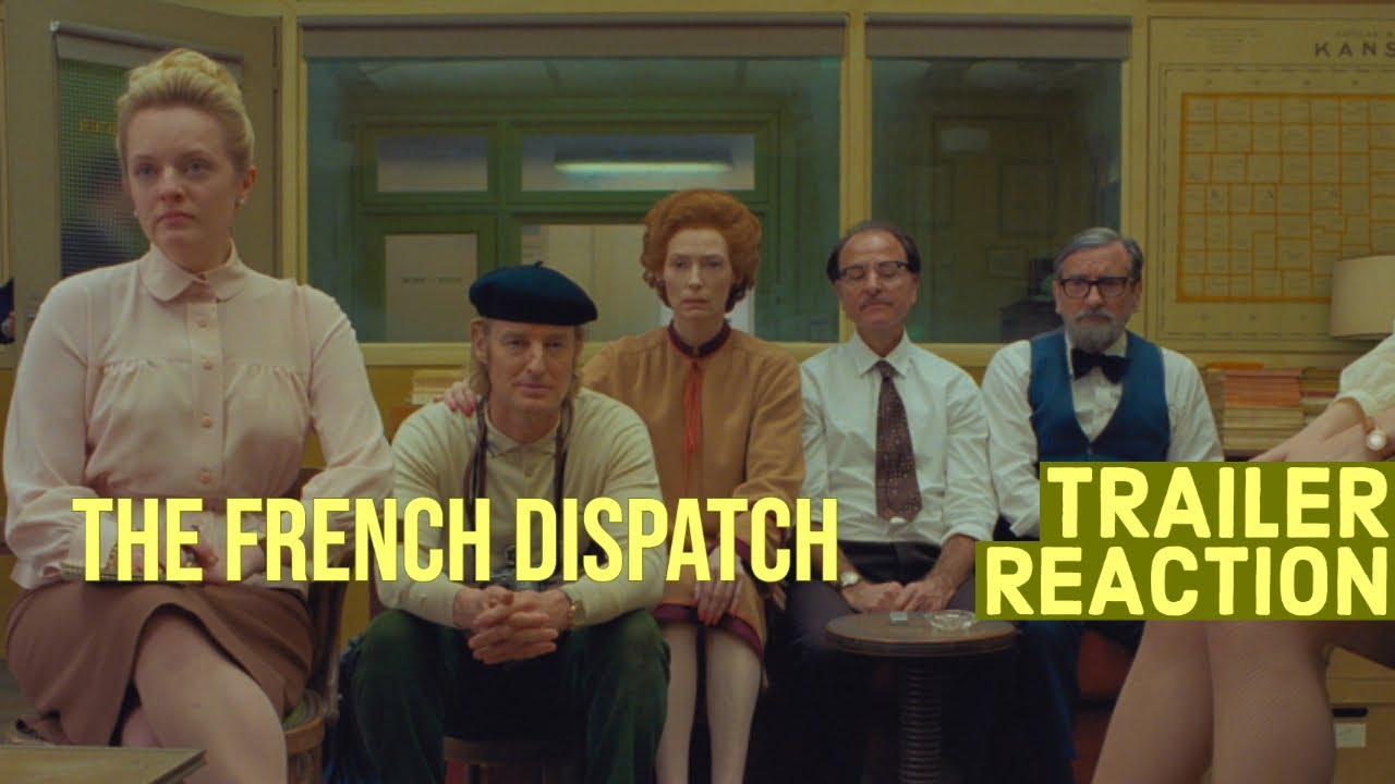 The French Dispatch Trailer | Reaction and Review
