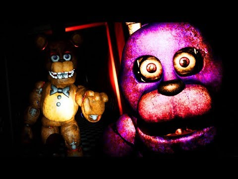 FREDDY AND BONNIE CHASE ME THROUGH A MAZE | Five Nights at Bonnie (FREE ROAM Five Nights at Freddys)