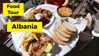 AMAZING Albanian food (with prices), our favorite things to eat in Albania - travel vlog