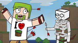 ч.05 - Скелет маньяк (крепость) - Minecraft Хардкорное выживание