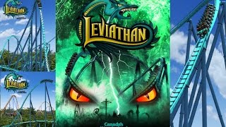 Roblox Theme park l Leviathan Roller Coaster