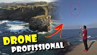 SOBREVOANDO O OCEANO ATLÂNTICO COM UM DRONE 😱