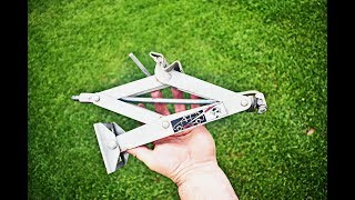 OLD SCISSOR JACK ??? Do not throw it, just make it simply useful thing /Mr.DK DIY