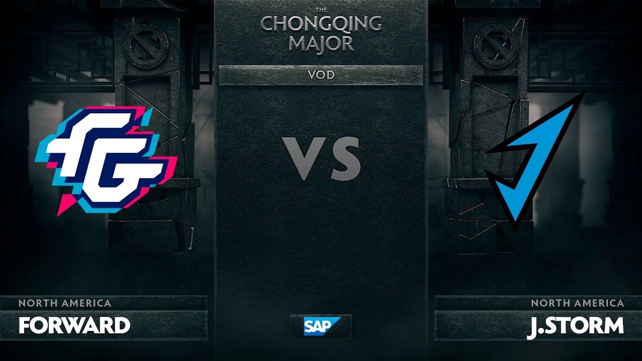 [EN] Forward Gaming vs J.Storm, The Chongqing Major LB Round 1