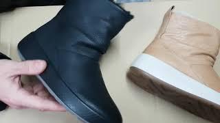 Обзор женских зимних ботинок ECCO UKIUK