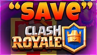 will THIS save CLASH ROYALE?  (MOLT RAGE CHALLENGE)