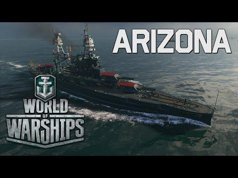 World Of Warships - Arizona Commander Training