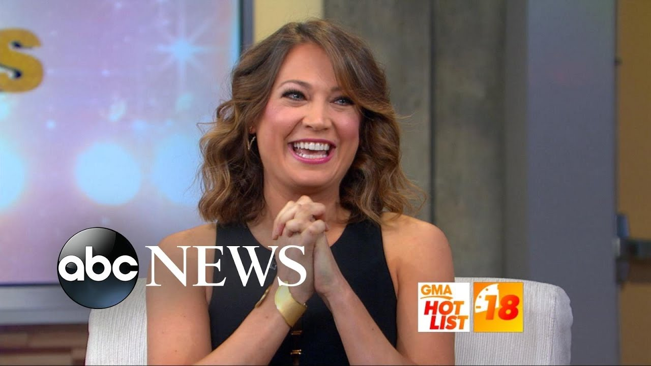 Ginger Zee Hot Pics pertaining to gma' hot list: ginger zee revealed as 'dancing with the stars