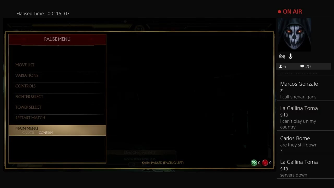 Mk11 servers are down