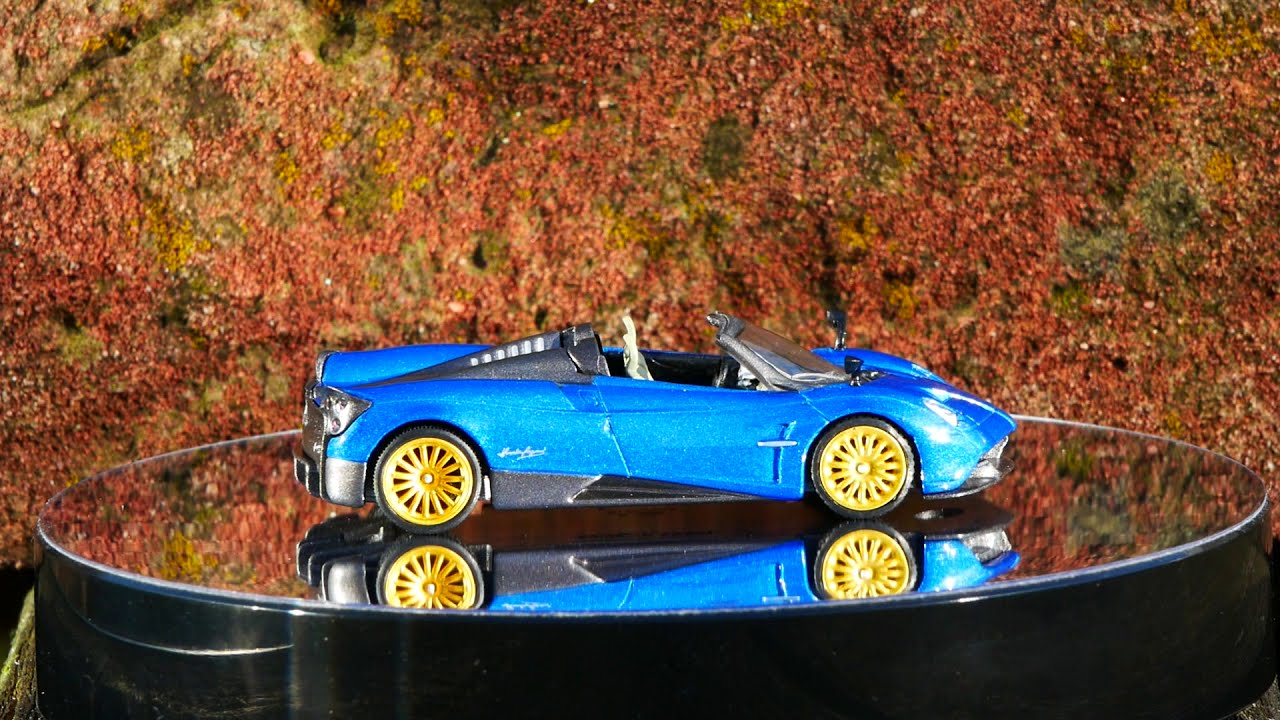 Pagani Huayra roadster Blue francia *** mini GT-TSM 1:64 nuevo