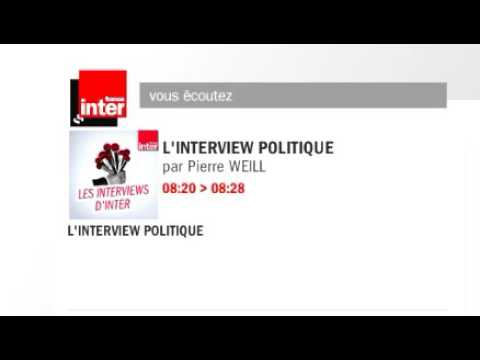 L'interview politique France Inter 30.10.2016