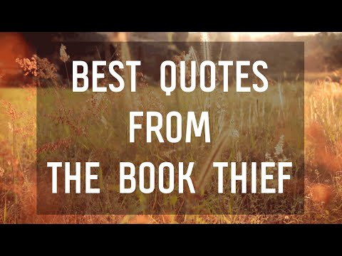 Best Quotes from The Book Thief by Markus Zusak