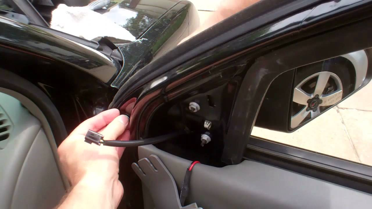 Chevrolet Malibu Maxx Side Mirror Replacement 2004 Youtube