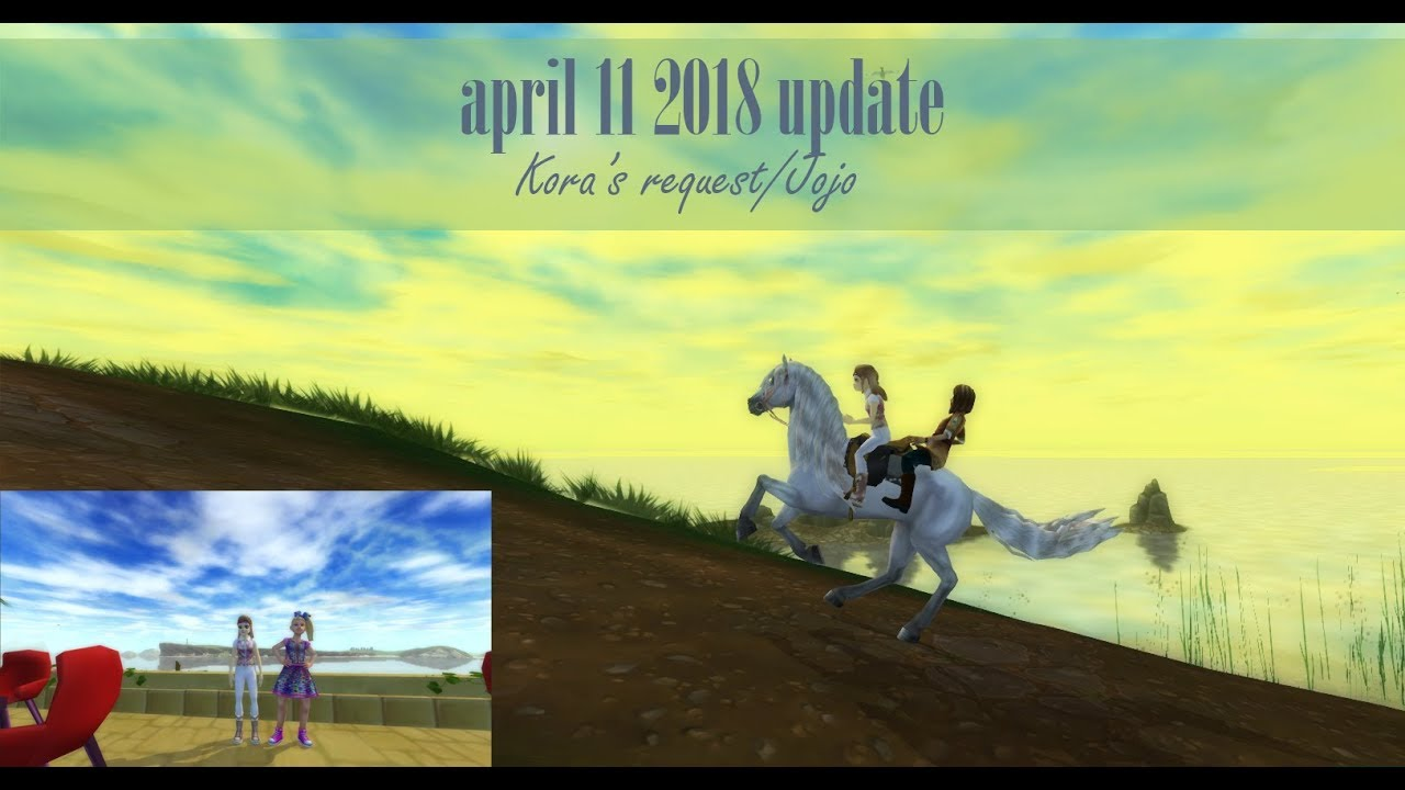Star Stable: April 11, 2018 Update - Kora's Request and Jojo