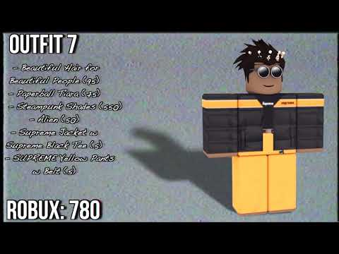 10 AWESOME ROBLOX OUTFITS
