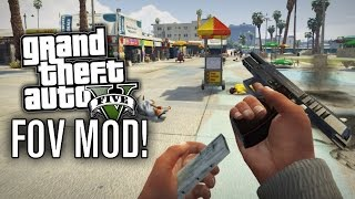 GTA V PC | THIRD & FIRST PERSON FOV MOD | CAR SUPPORT (FIELD OF VIEW MOD)