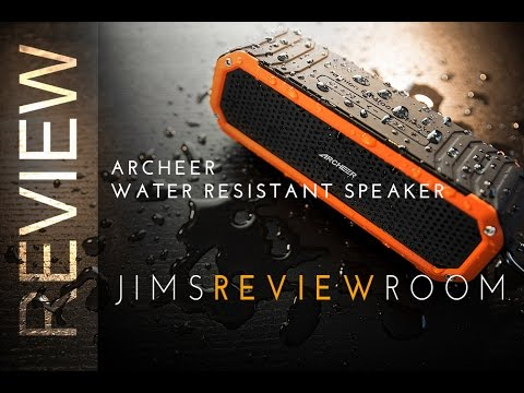 Archeer A226 $40 Water resistant Bluetooth Speaker - REVIEW