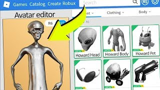 MAKING METAL ALIEN HOWARD A ROBLOX ACCOUNT