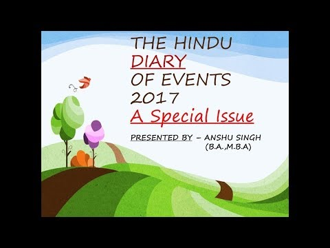 SPORT NEWS(THE HINDU) -2017 PART-2[ july -dec]
