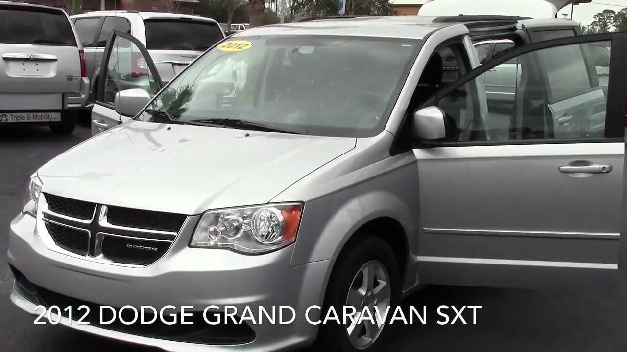 2012 Dodge Grand Caravan SXT Rear Entry Handicap Accessible Van