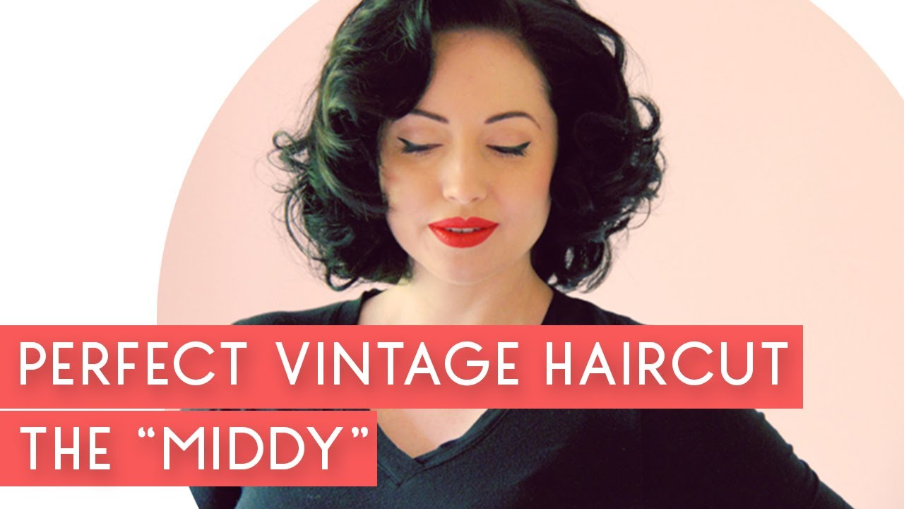 The Perfect Vintage Hair Cut Aka How To Style A Middy Cut