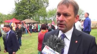 Rolnicy z gminy Sztum podsumowali zbiory. Gminne Dożynki w Gronajnach - 13.09.2015
