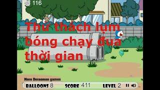 game thử thách doraemon chạy đua voi thời gian