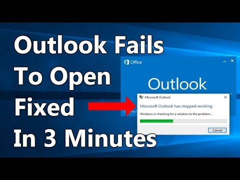 [FIXED] Microsoft Outlook has stopped working