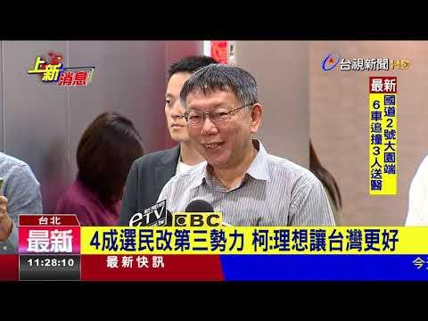 時力質疑台灣主體立場柯文哲:我哪裡違反?