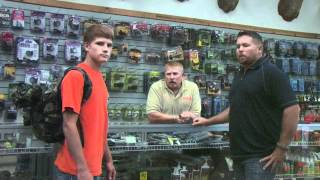 archery tip of the week   packing how to properly wear your backpack