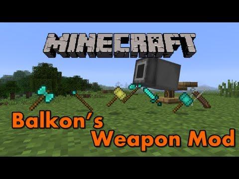 Minecraft Mods - Balkon's Weapons Mod