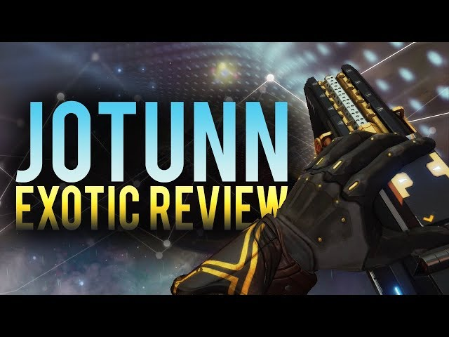 My NEW Favorite Weapon In Destiny 2! Jotunn Exotic Fusion Rifle Review!
