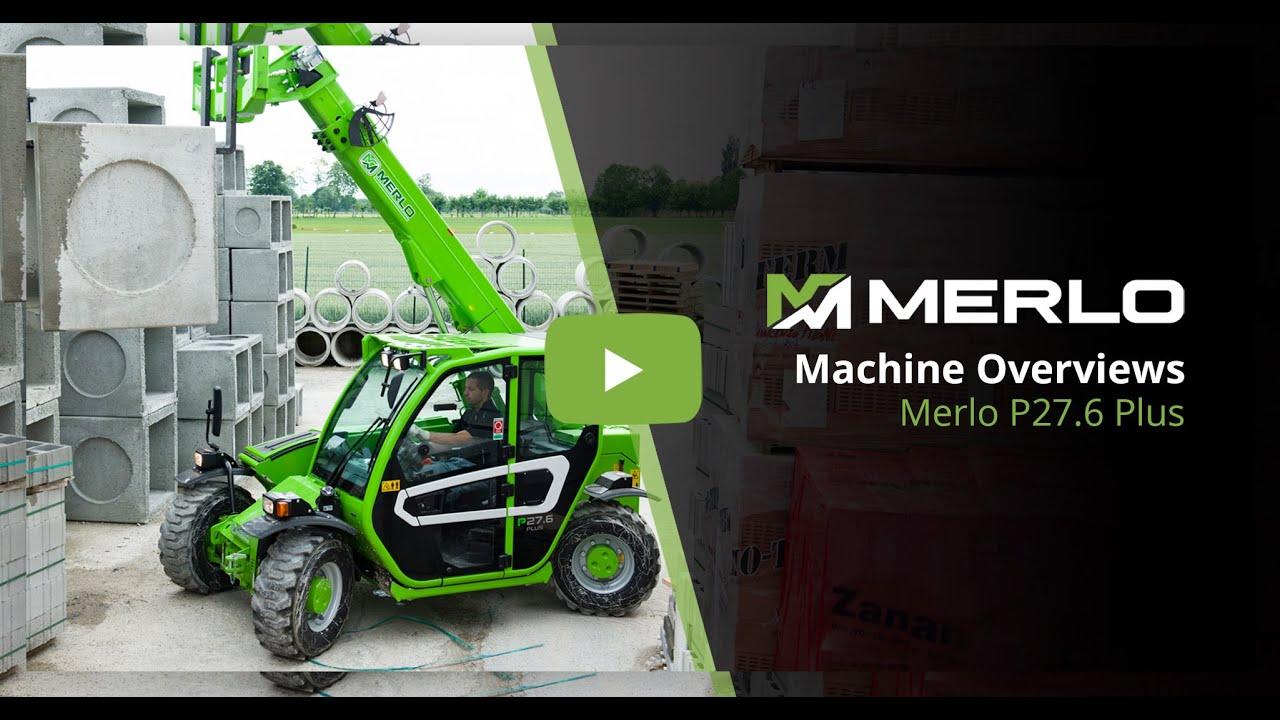 Merlo P27.6 Plus - Compact Telehandler