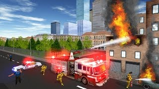 Fire Truck Game 2016 (by Baklabs) Android Gameplay HD