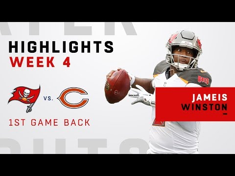 Jameis Winston Highlights from 1st Game Back!