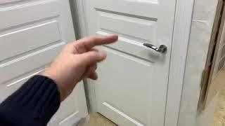 белые двери Прованс Woodok против Omega Ницца