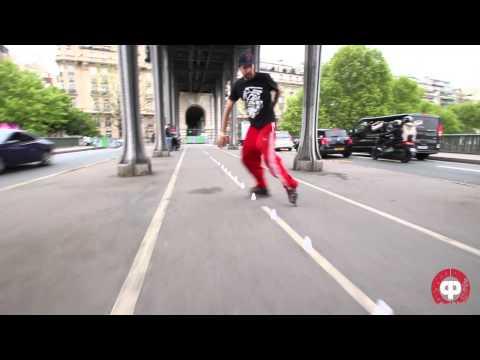 Roller Freestyle Slalom I Paris 2013 . Argentina . Alemania I Crazy People Shop