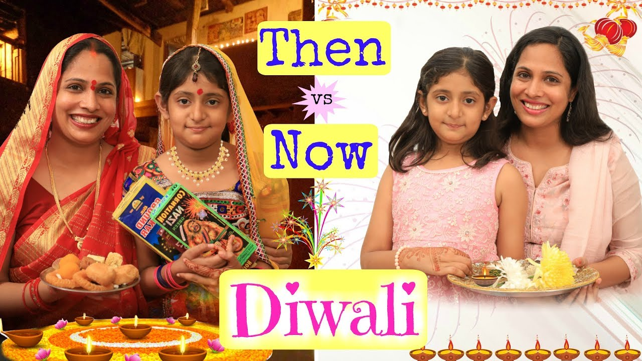 Download Diwali THEN Vs NOW ..   #ShrutiArjunAnand #Roleplay #Fun #Sketch #MyMissAnand