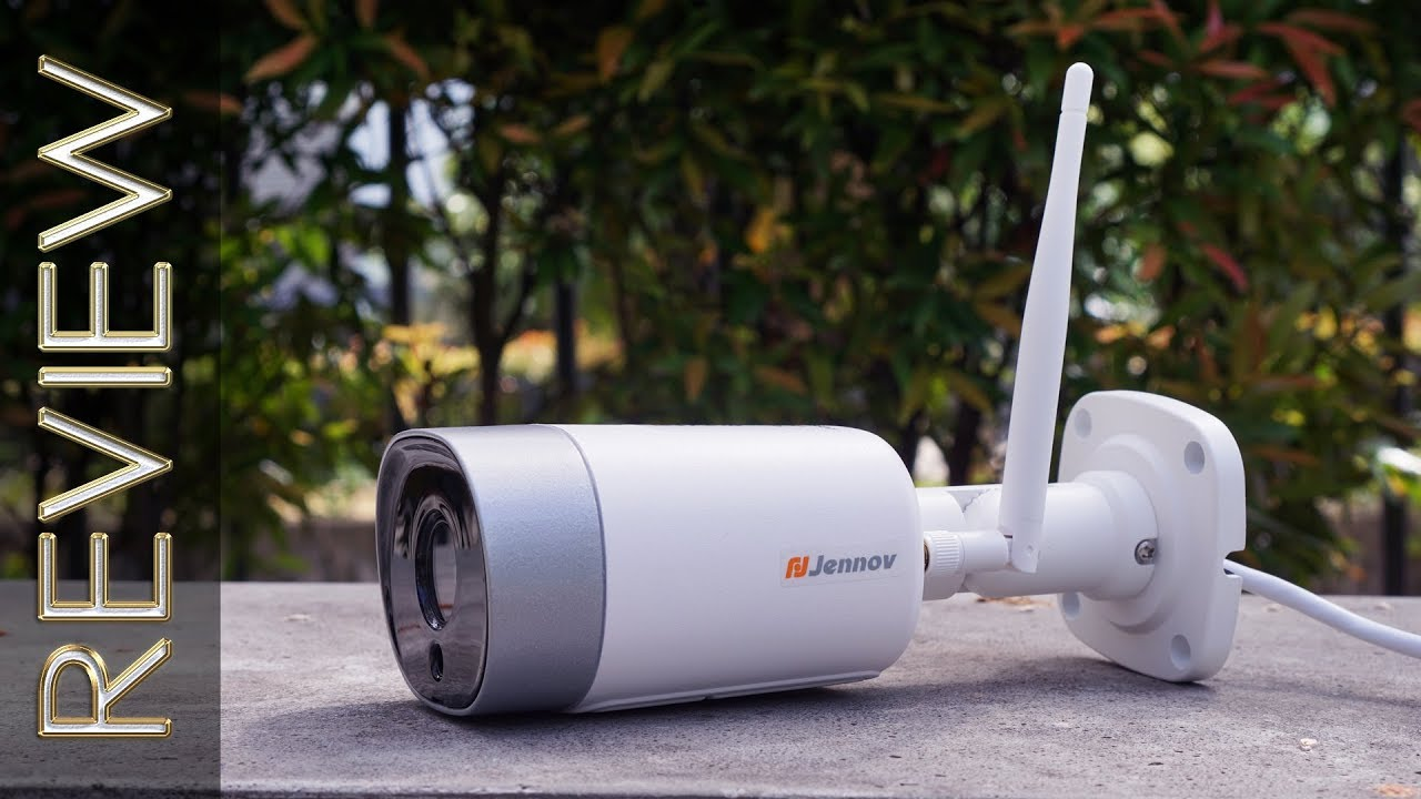 Jennov 1080p WiFi Bullet IP Camera Review | SecurityBros